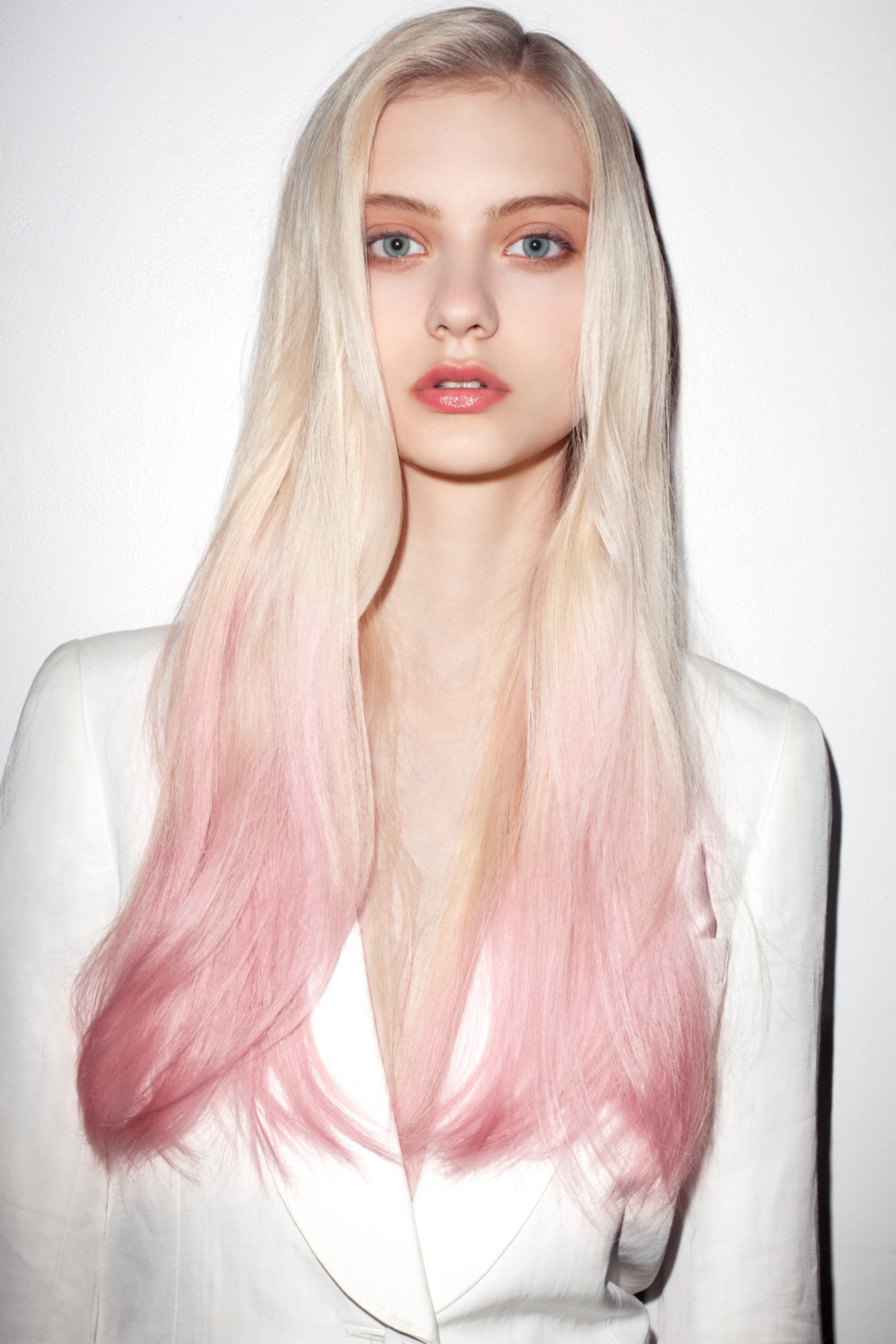 2012 Fall Hair Trends  Dipped Dyed Ends  Fashionandbeautyscene39s Blog