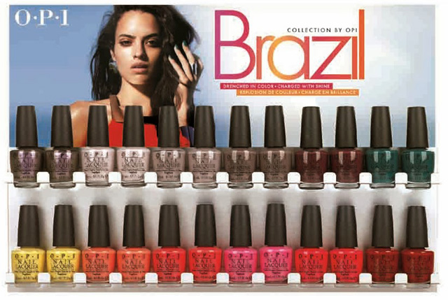 OPI Brazil Collection Spring Summer 2014 Nail Polish Collection 2