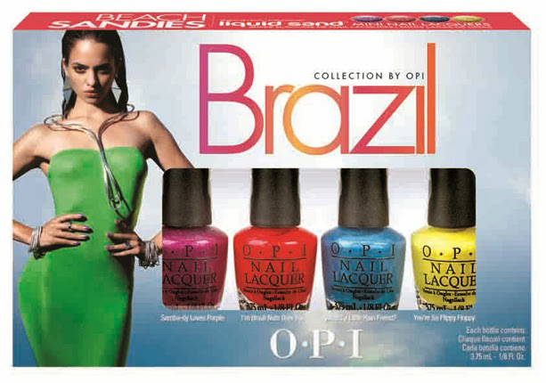 OPI Brazil Collection Spring Summer 2014 Nail Polish Collection 5