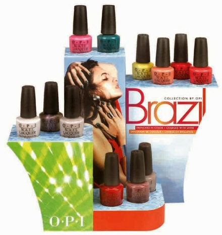 OPI Brazil Collection Spring Summer 2014 Nail Polish Collection