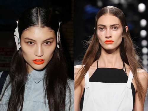 2014 Spring and Summer Makeup Trends - Bold Lips 3