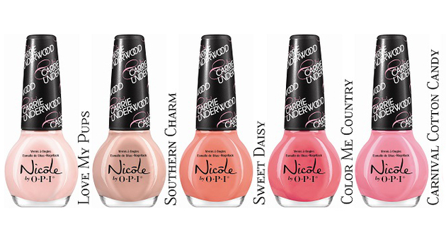 Carrie Underwood for Nicole by OPI 2014 Nail Polish Collection 2
