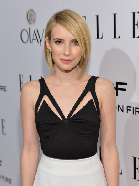 Check Out Emma Robert's New Bob Haircut 2