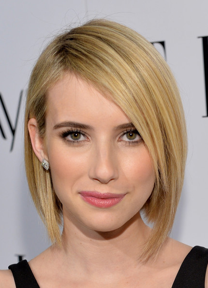 Check Out Emma Robert's New Bob Haircut